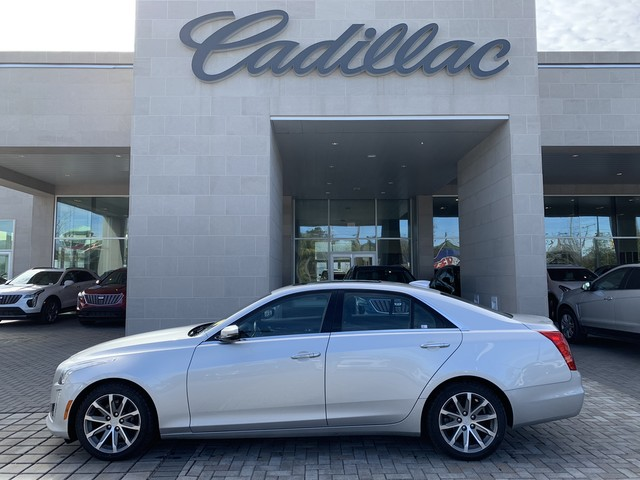 Pre Owned 2016 Cadillac Cts Sedan Luxury Collection Awd